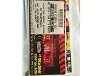 Weekend ticket for reading festival