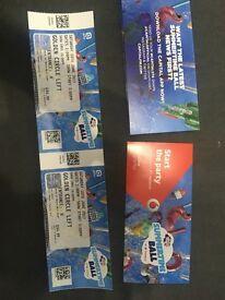 Capital FM Summertime Ball Tickets x2 Golden Circle Left