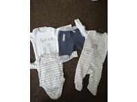 Baby boy clothes 0-3, and some first size, need gone asap £1 a item sets are £2, or all for £25