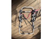 3 bike bicycle carrier for hatchback cars