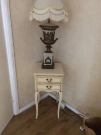 2x French Louis tables