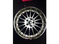 "Vw caddy Mercedes e s c class 19 "" inch alloy wheels"