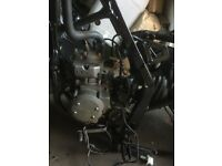Kdx125 engine