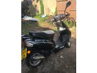 Scout 50cc moped 2015