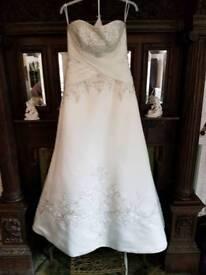 Mori Lee size 12 wedding dress
