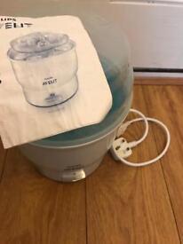 Avent electric baby bottle steriliser