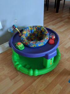 Exersaucer and Rocking Chair