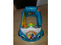 New fisher price baby car