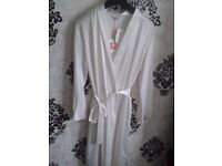 New Womens silk dressing gown