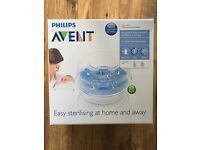 Philips Avent Microwave Steam Sterilizer (Brand New, Unopened)