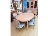 Furniture clearance -Dining table and sideboard and trolley