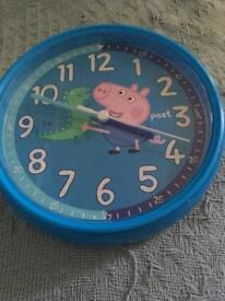 George pig clock
