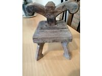 VERY RARE ANTIQUE CHINESE NOODLE PRESS