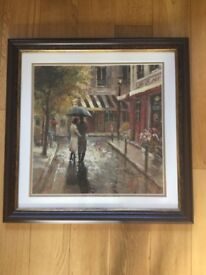 NEW. SET OF TWO PAINTING BY BRENT HEIGHTON