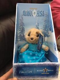 Ayana as Elsa frozen meerkat limited edition teddy