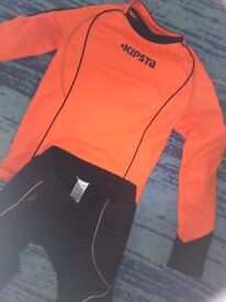 Kids football goalkeeper outfit