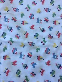Cath Kidson pram/small blanket