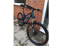 Downhill Full suspension mountain bike Lapierre Raid fx down hill bike