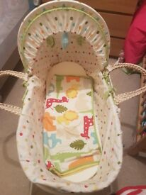 Kiddi care Safari moses basket
