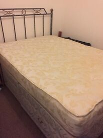 Double bed matress headboard