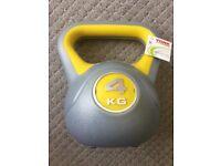 4kg kettlebell - York Fitness - Brand New