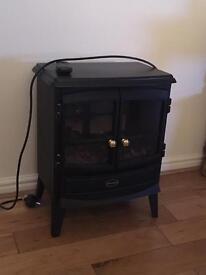 Electric dimplex heater
