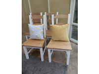 Camden Painted Dining Chairs x 4