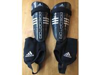 Adidas Predator Shin Pads with Ankle Guards