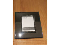 NEXT mirrored photo frame 6x4 inches (10x15cm) New