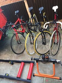 Track and Road Cycling Package