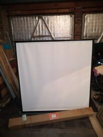 Vintage Projector Screen