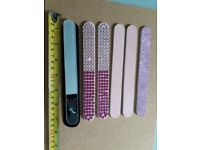 Collection of Nail Files (5 Emery & 1 Glass?)