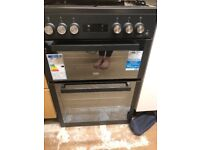 Gas double oven Cooker
