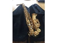 Trevor Horn Classic 2 Saxophone, as new condition with case, with very little use.