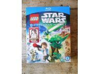 BLU-RAY LEGO STAR WARS THE PADAWAN MENACE WITH FIGURE