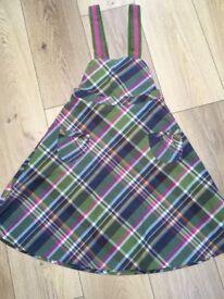 Girls Joules Pinafore Dress age 7