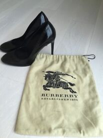 Burberry black shoes UK 5.5-6, £100