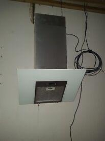Extractor hood wall mounted