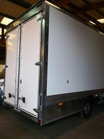 MERCEDES SPRINTER BRAND NEW LUTON BOX DROPWELL BODY