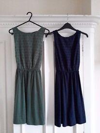 Two cotton dresses size 6
