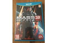 Mass Effect 3 Special Edition Nintendo WiiU Game