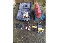 Dewalt self levelling rotary laser kit