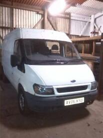 Ford transit 125 bhp breaking for spares and parts