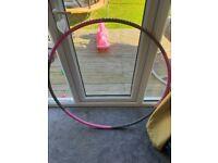 Opti weighted hula hoop