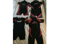 Wetsuits (Kids) various sizes