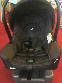 Joie Gemm car seat with iso fix base
