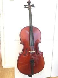 1/8 size cello perfect condition