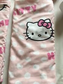 Hello Kitty single duvet cover, pillowcase & fitted sheet (2 sets available)