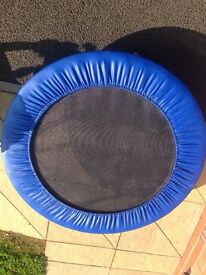 (Sold)Foldable mini trampoline 91cm