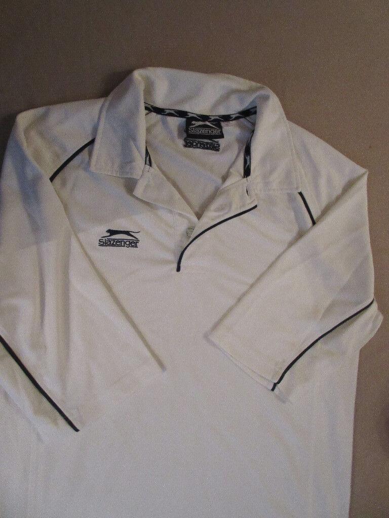 Mens Slazenger Cricket Shirt